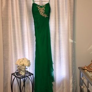 Kelly Green Gown